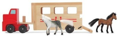 Melissa & Doug Children,S Horse Carrier
