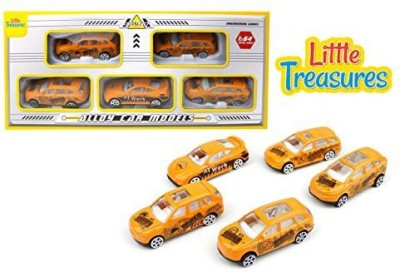 Little Treasures Diecast Construction Fleet Alloy Toy Car Models Play Set