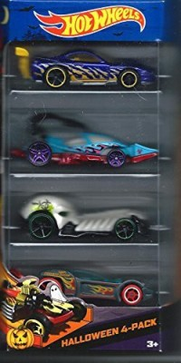 Hot Wheels Halloween Cars Target 4 Pack Scary Cars