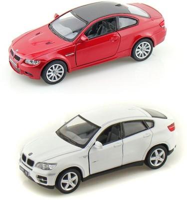 i-gadgets Kinsmart bmw M3 Rd and BMW X6 Wht