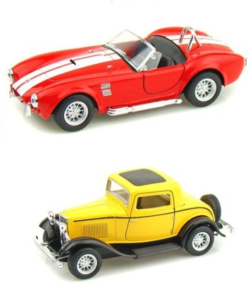 i-gadgets Shelby Cobra Red And Ford 1932 Coupe Yellow Mini Model