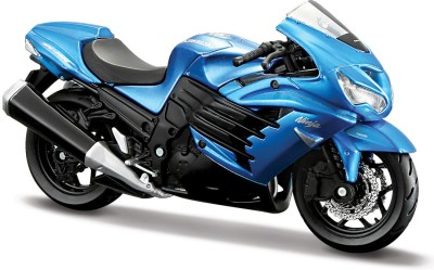 Maisto Fresh Metal Kawasaki Ninja Zx-14 - 1:18 Scale Diecast Motorcycle
