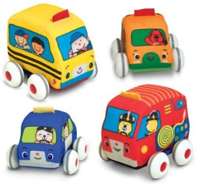 Melissa & Doug K's Kids Pull-Back Vehicle Set