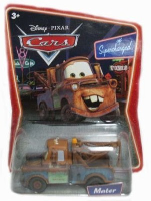 Disney Pixar Supercharged Mater Diecast Car