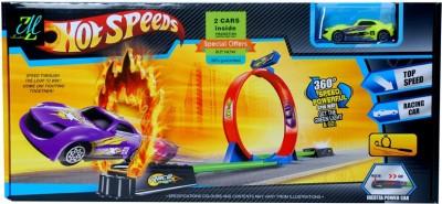 Montez Hot Speeds Storm Spin Way Track set