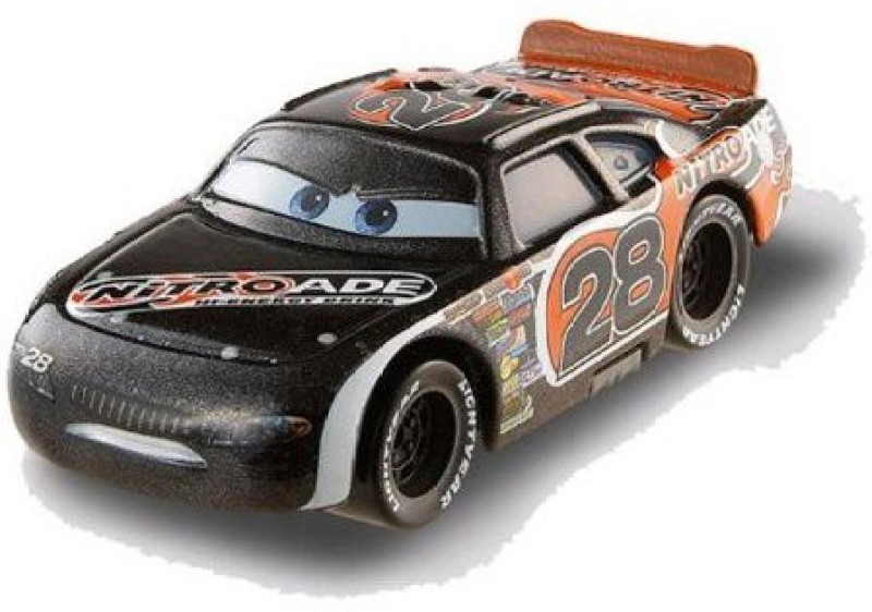Disney Pixar Cars Piston Cup Diecast Nitroade No 28 10/18 155(Black)