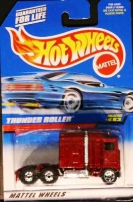 Mattel Hot Wheels Collector 483 Thunder Roller 5Sp