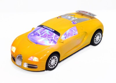 Shape n Style Bugatti with Lights Effects Friction Car