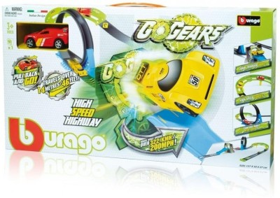 Bburago GoGears High Speed Highway Playset