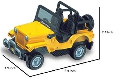 Centy Toys Mahindra Classic Jeep