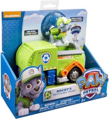Paw Patrol Rocky's Recycling Truck (works with Dog)