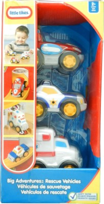 Little Tikes Big Adventures Rescue Vehicles