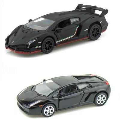 i-gadgets Kinsmart Lamborghini and Veneno Blk