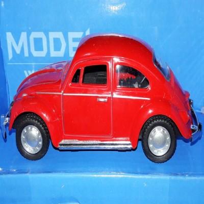 AQUARAS AUTO-DIE CAST METAL CAR(RED)