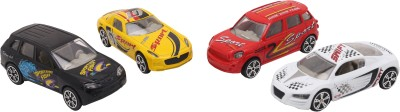 Babytintin Street machine Die cast 4 piece car set