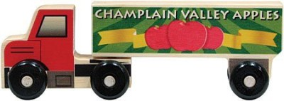 Maple Landmark Apple Semitruck Made In Usa