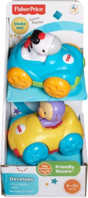 Fisher-Price Silly Speedsters Friendly Racers