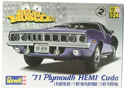 Revell 124 ,71 Hemi Cuda 426