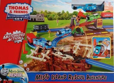 Jaibros Thomas and Friends Motorized Railway Adventure Train Set
