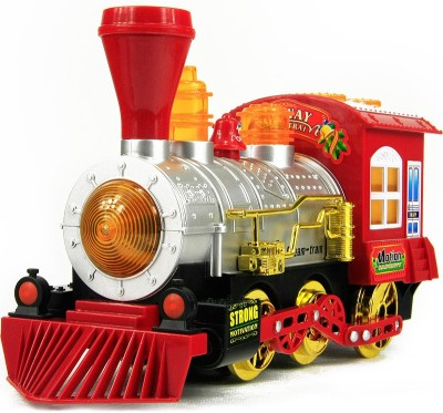 CP Bigbasket Bubble Train Engine Battery Operated Bump & Go Toy Bubbles Maker Blower Machine