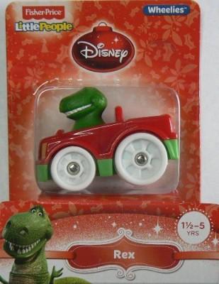 Fisher-Price Little People Wheelies Disney Rex
