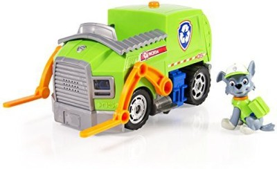 Paw Patrol Rocky,S Lights And Sounds Recycling Truck