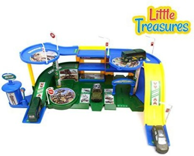 Little Treasures Ultimate Military Army Base Play Set