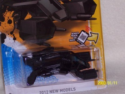 Hot Wheels 2012 Release Batman The Dark Knight Rises New Models