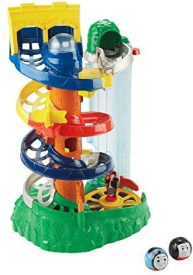 Fisher-Price My First Thomas The Train Rail Rollers Spiral Station