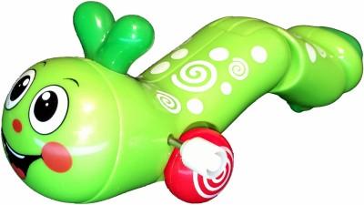 Mamaboo Wind-Up Earthworm - Lime