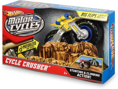 Hot Wheels Motorcycles Cycle Crusher