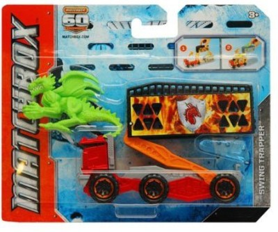 Mattel Matchbox Catch The Creature Swing Trapper