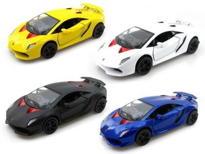 Kinsmart Pack of 4 Lamborghini Sesto