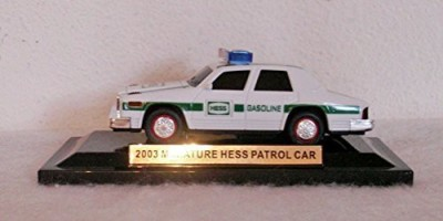 Hess Truck Miniature 2003 Miniature Hess Patrol Car