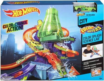 Hot Wheels Hot Wheels Shifters Color Splash Science Lab Playset, Multi Color