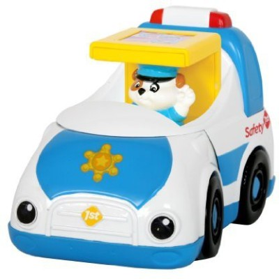 Safety 1st Safety First Cubikals Wiggler Police Car (Comes With 1