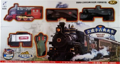 Vaibhav RC Classical Train with Sound Light and Real Smoke Function - With Remote