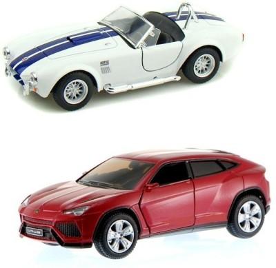 i-gadgets Kinsmart Lamborghini Urus Rd And Shelby Cobra Wht