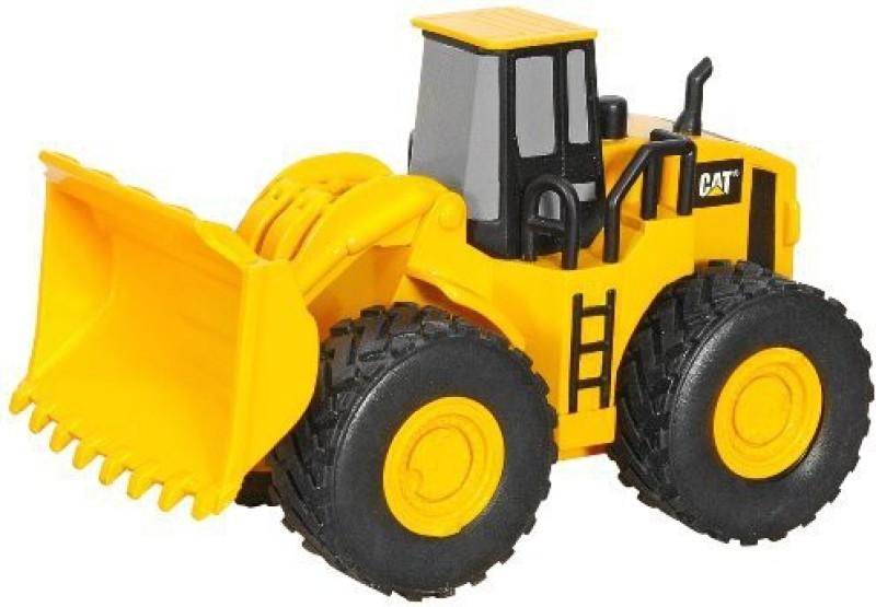 Toystate State Caterpillar Rev It Up Wheel Loader(Yellow)