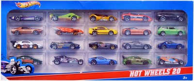 Hot Wheels Pack of 20 Cars