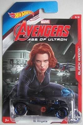 Hot Wheels Marvel Avengers Age Of Ultron Black Widow 16 Angels 8/8