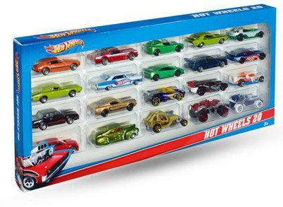 Hot Wheels 20 Colorful Cars
