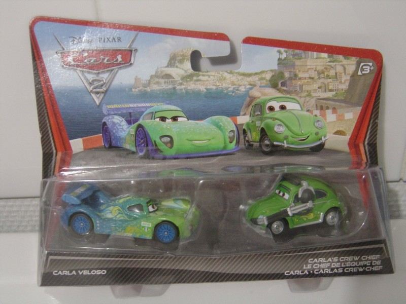 Disney Pixar CARS 2 Movie Exclusive Die Cast Car(Green)