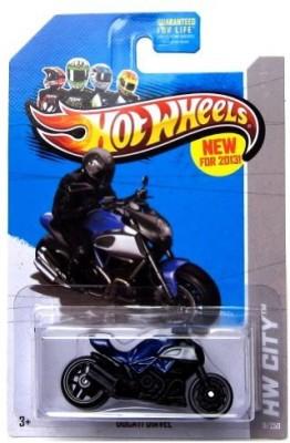 Toys4Sale Hot Wheels 2013 Ducati Diavel Blue Hw City 9/250
