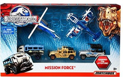Matchbox Jurassic World Mission Force Pack