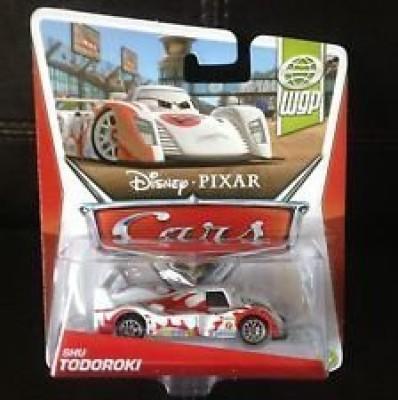 Disney Mattel Pixar Cars Shu Todoroki Wgp Cardback
