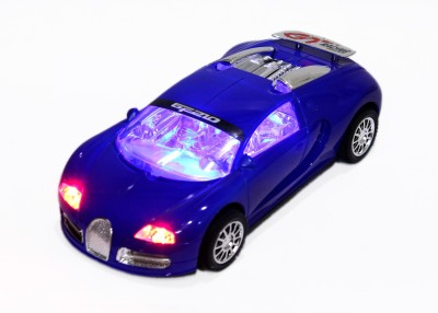 Shape n Style Bugatti with Light Effects Car
