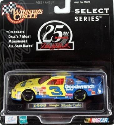 Winners Circle Dale Earnhardt 1999 Car