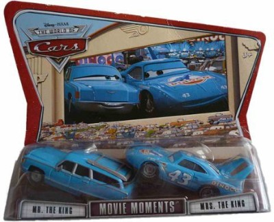 Mattel Cars Movie Moments Mr & Mrs The King