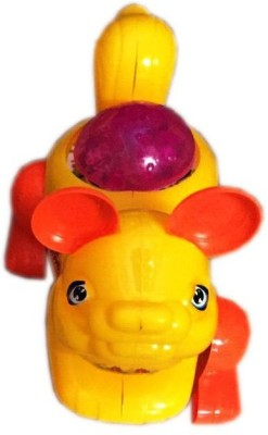 Rahul Toys Light Rat Toy For Kids Pack Of 2